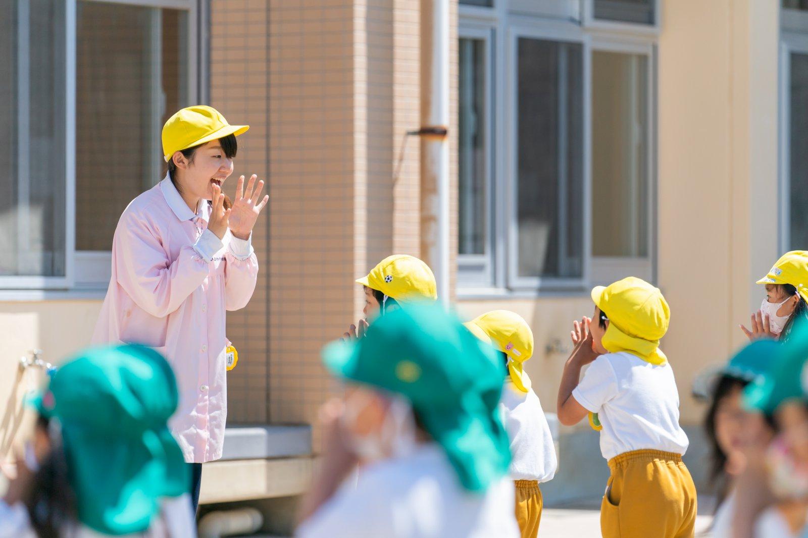 学校法人 黒木学園の幼稚園や保育園の様子